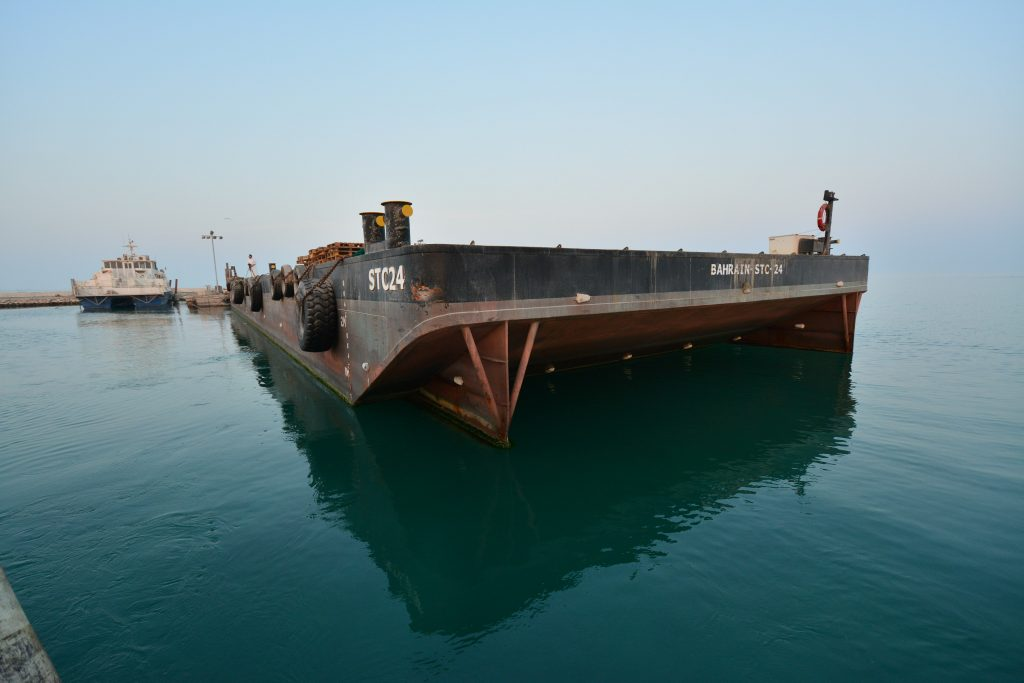 Complete Renovation of STC-24 Barge